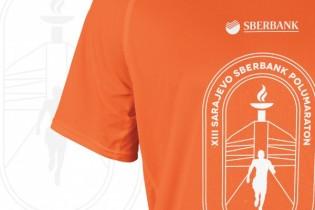 Zvanična majica 13. Sarajevo Sberbank polumaratona