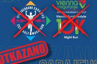 Otkazan Sarajevo Sberbank polumaraton i sve utrke u organizaciji Udruženja  Marathon Sarajevo u 2020. godini