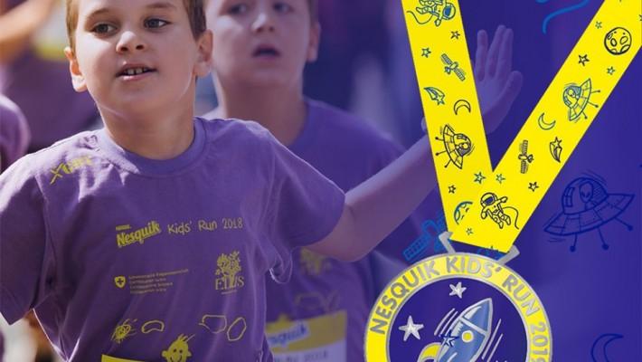Medalja za Nesquik Kids' Run