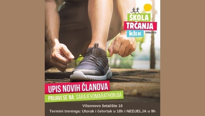 Be physically active by running at Running School Klix  and reduce the psychological consequences of coronavirus