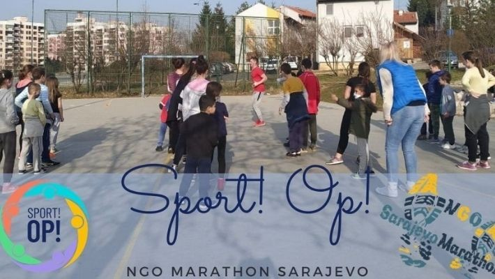 NGO Marathon Sarajevo implements Sport Op project where inclusion elevates all