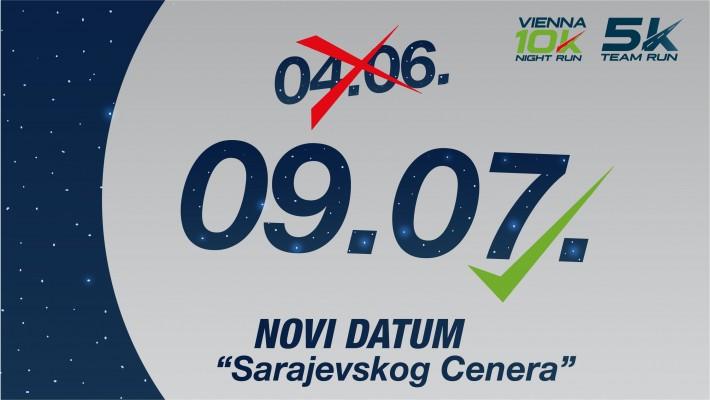 Utrke Vienna Run4Lifestyle 10K Night Run i 5K Team Run pomjerene za 09.07.2021.